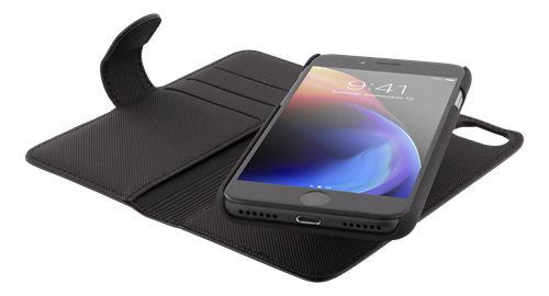 DELTACO lompakkokotelo iPhone 6/6s/7/8/SE (2020), magn.kuori, musta - DELTACO - kuva 4