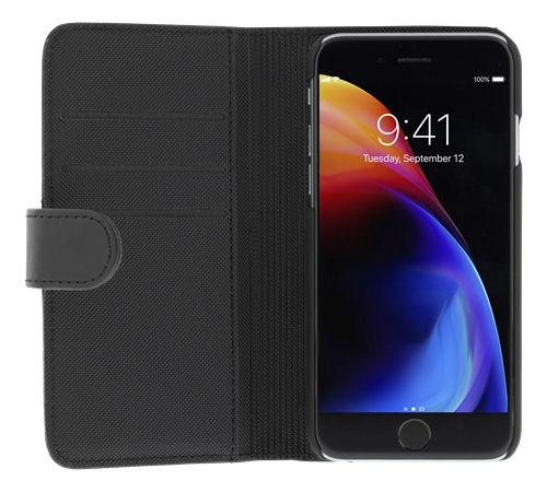 DELTACO lompakkokotelo iPhone 6/6s/7/8/SE (2020), magn.kuori, musta - DELTACO - kuva 5