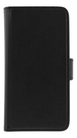 DELTACO lompakkokotelo iPhone 6/6s/7/8/SE (2020), magn.kuori, musta - DELTACO - kuva 1