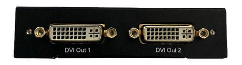 Mini DisplayPort to DVI Splitter, Two DVI-I outputs, Full HD, 2,2 Gbps - DELTACO - kuva 2