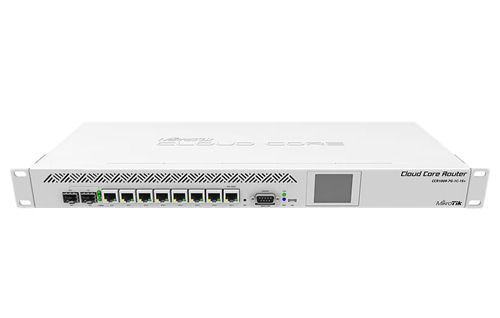 MikroTik Cloud CCR1009-7G-1C-1S+ 7-port Gigabit router, 9 cores, L6, 2 - Mikrotik - kuva 1