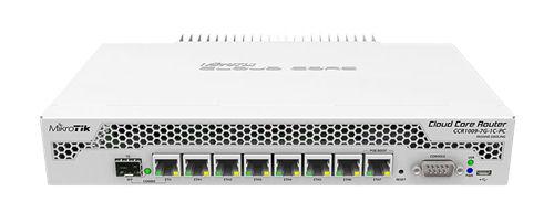 Mikrotik Cloud 9core3 1GB RAM 1xSFP 7GE ports L6 no fan - Mikrotik - kuva 1