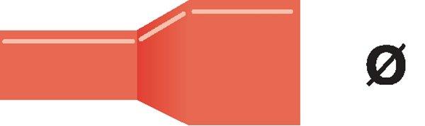 Abikoliitin punainen - No Brand - kuva 1