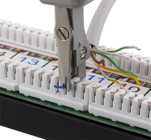 DELTACO verkkokaapelin kytkentätyökalu, Krone LSA, valkoinen - DELTACO - kuva 4