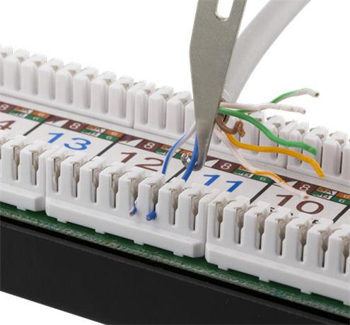 DELTACO verkkokaapelin kytkentätyökalu, Krone LSA, valkoinen - DELTACO - kuva 5
