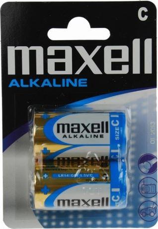 Maxell paristo, C (LR14), Alkaline, 1,5V, 2-pakkaus - maxell - kuva 1
