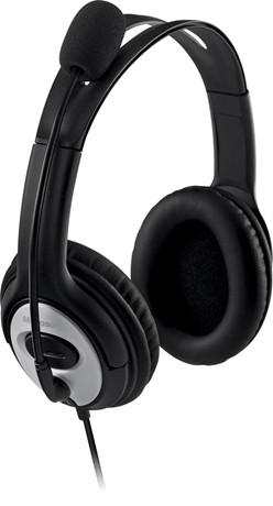 Microsoft LifeChat LX-3000, korvakuulokkeet, USB, musta - Microsoft - kuva 2