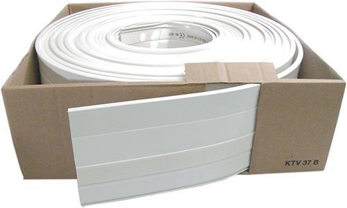 Minikaapelikouru kerällä, 20m, valkoinen, 7x12mm - hager - kuva 1