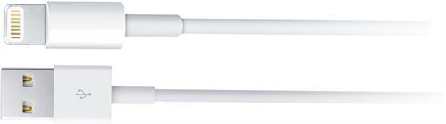 Apple Lightning-USB kaapeli, 0,5m, MFi, valk - APPLE - kuva 1