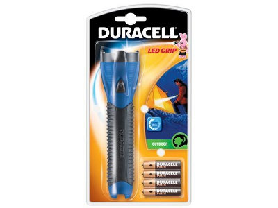 Duracell LED Grip+4xAA