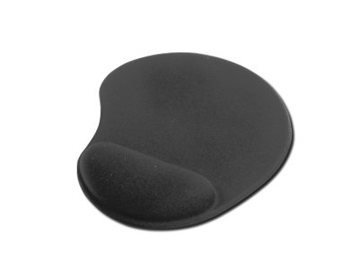 ednet Mouse Pad with Wrist Rest Black | 4054007640208 | ednet
