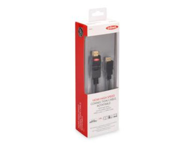 ednet HDMI High Speed connection cable HDMIa(m)-HDMIa(m) 2m rotatable | 4054007844934 | ednet, lisakuva 2